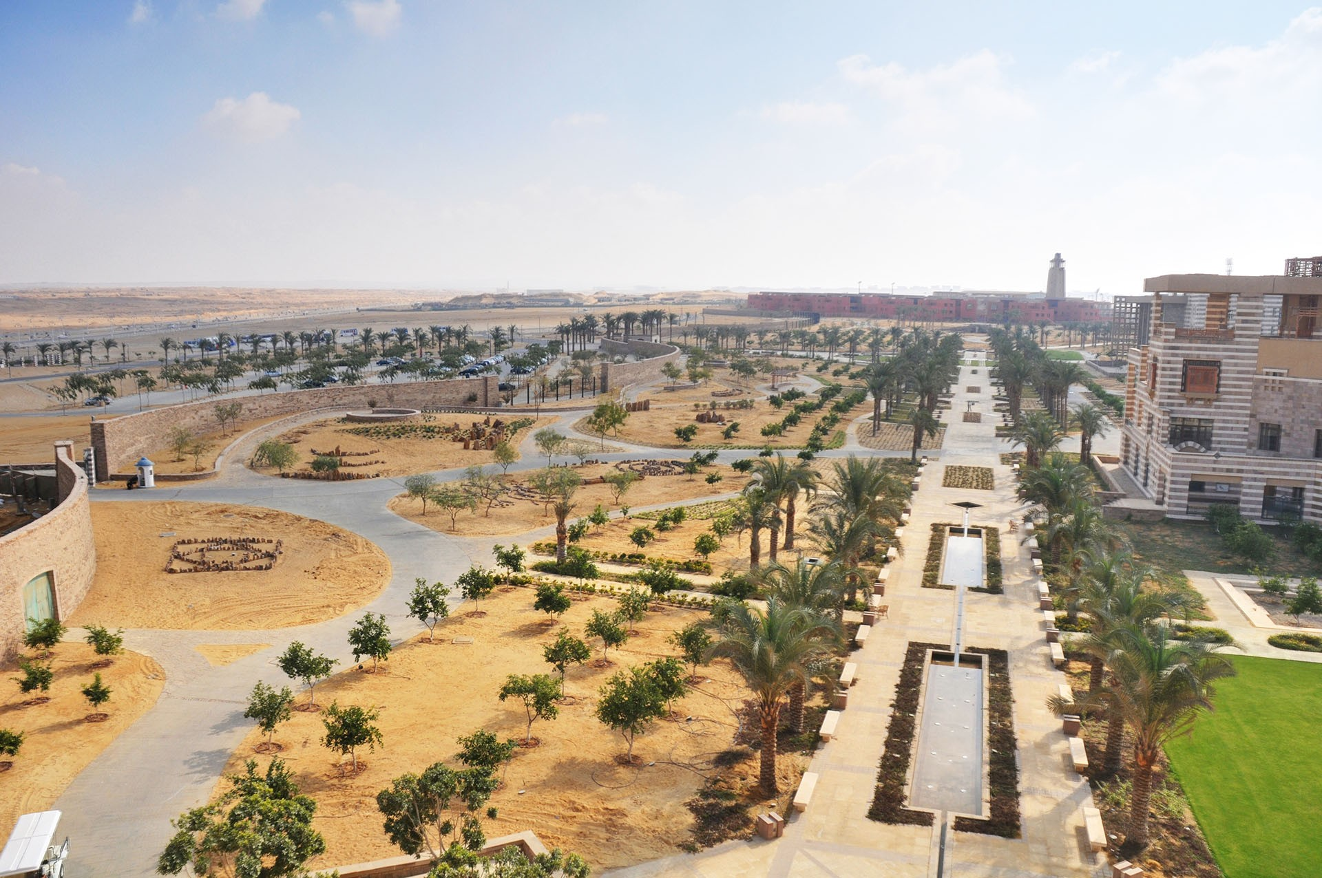 American University in Cairo Master Plan u0026 Design : CRJA-IBI Group