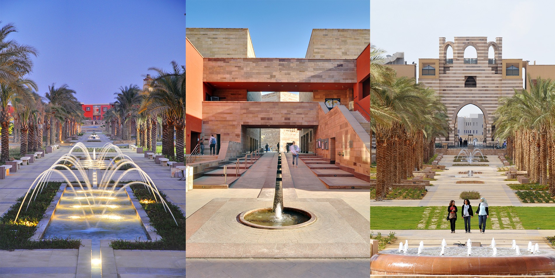 American University In Cairo Master Plan Amp Design Crja
