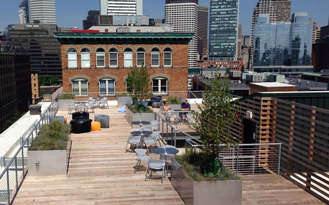 Logmein Rooftop Terrace Crja