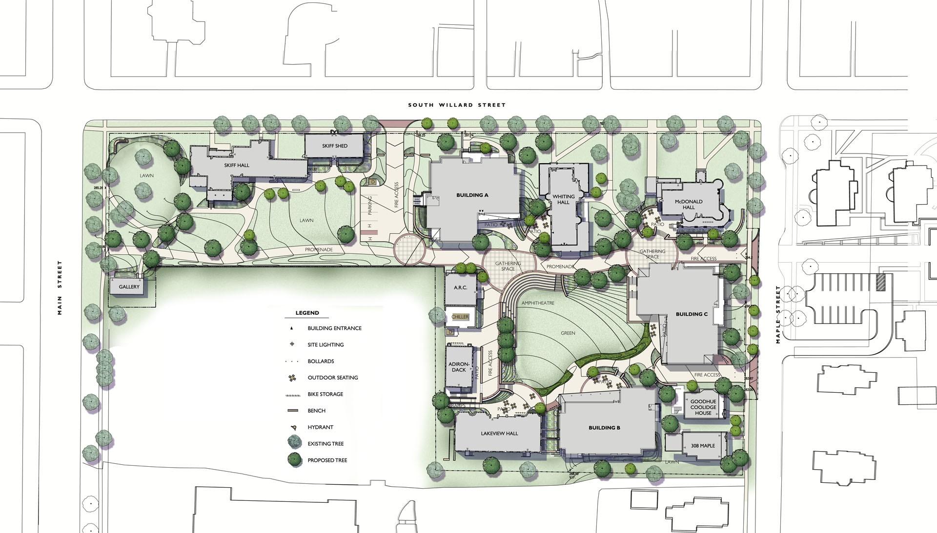 Champlain College Residence Halls Crja