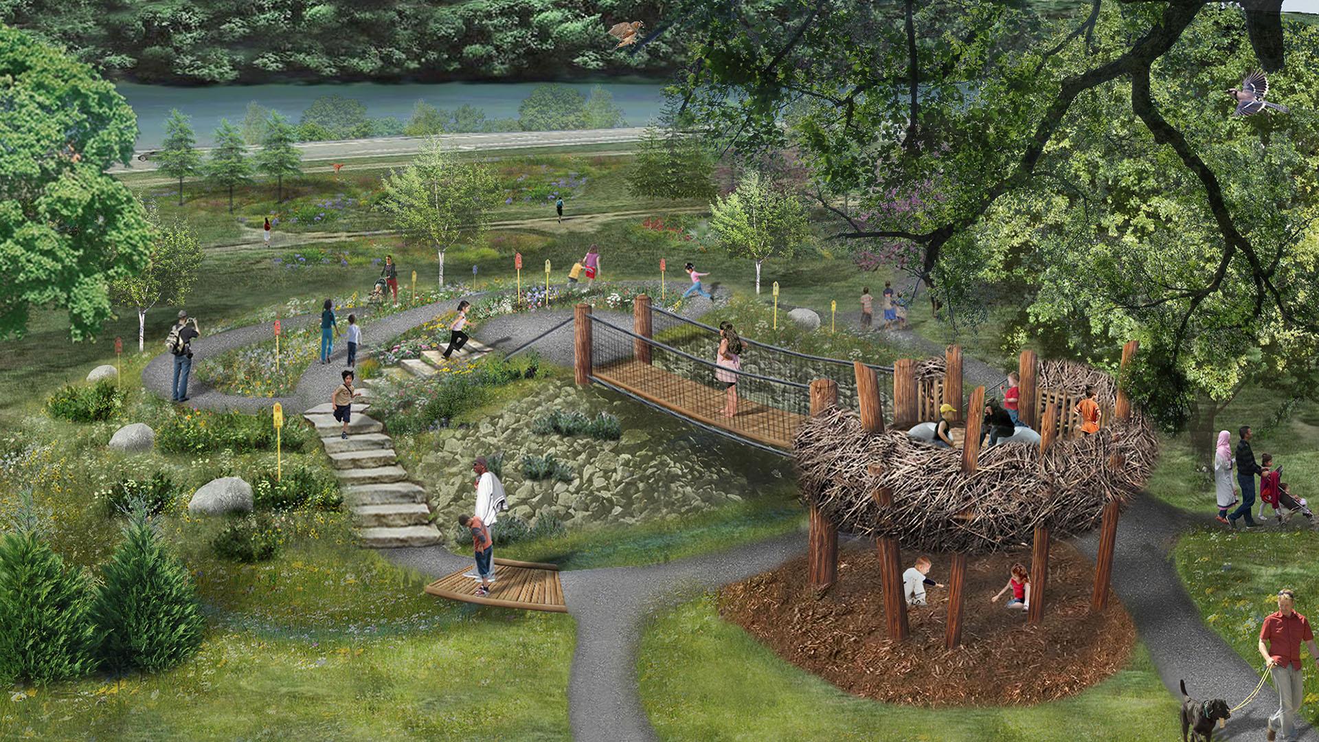 UT Garden Treehouse_birdseye