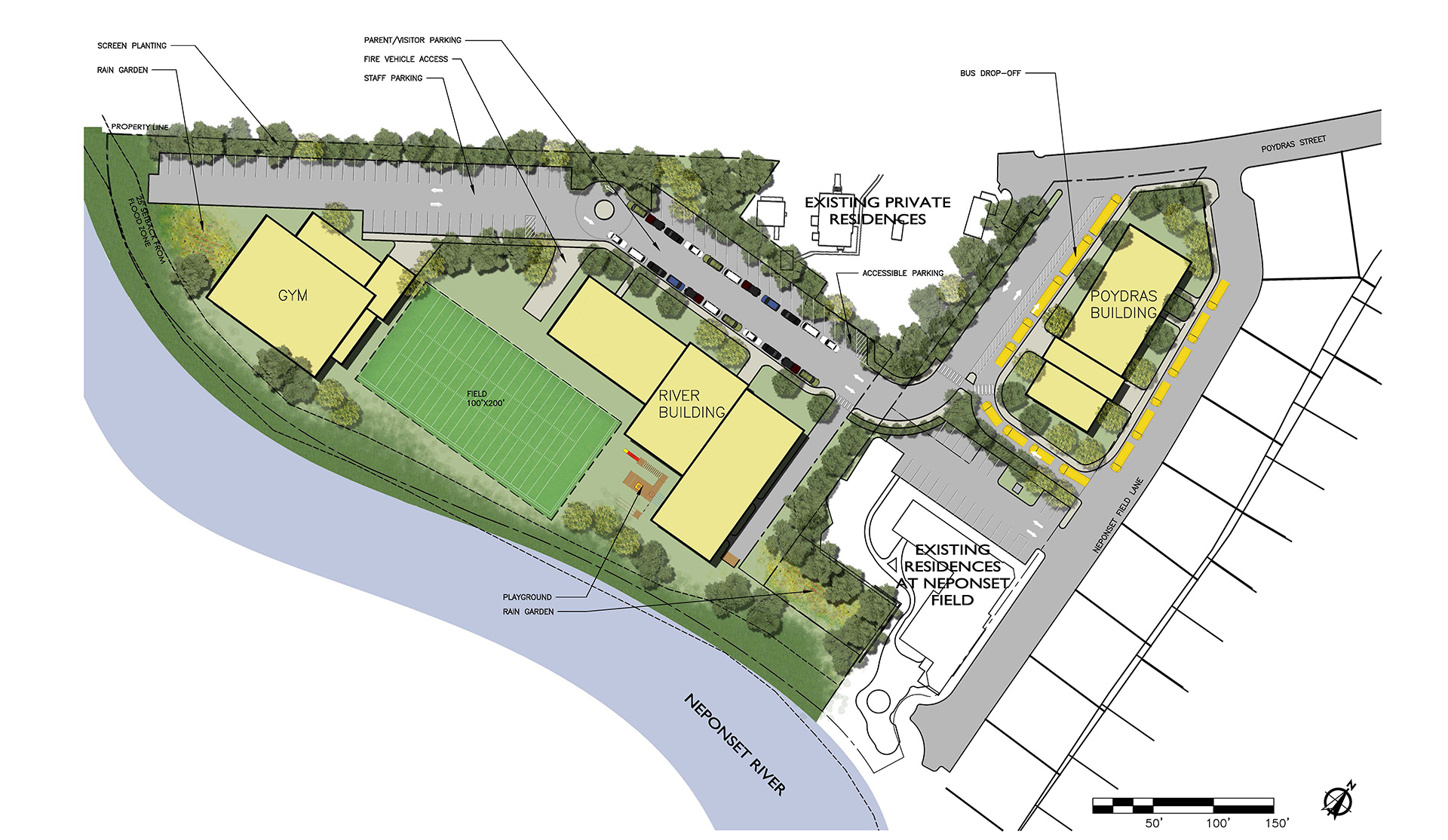 Rendered Site Plan