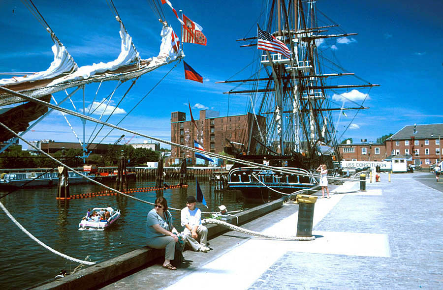 charlestown navy yard tall ships