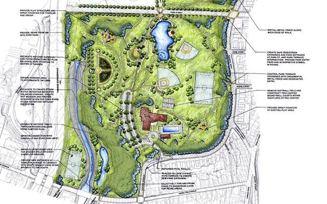 Playground Plan Drawing