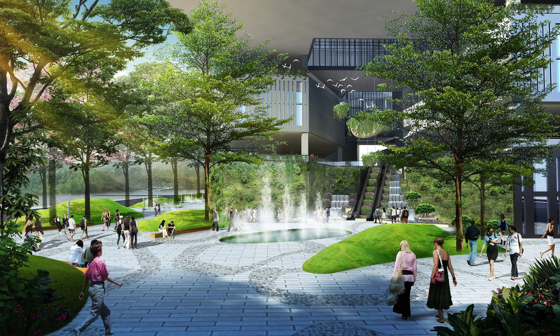 Shenzhen bay tech eco park concept_33