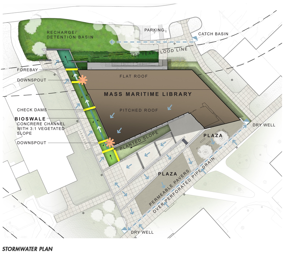 Mass Maritime Library_Stormwater_plan_2012