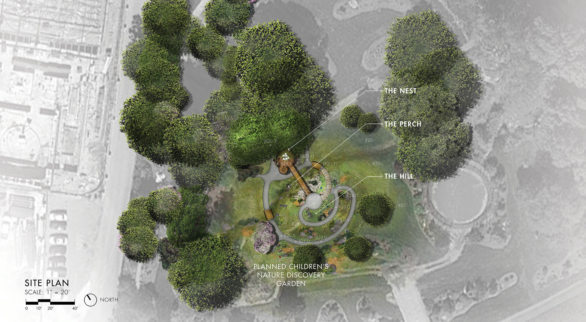 UT Garden Treehouse_Site Plan
