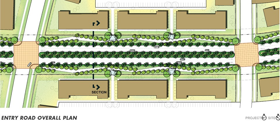 entry-road_overall plan