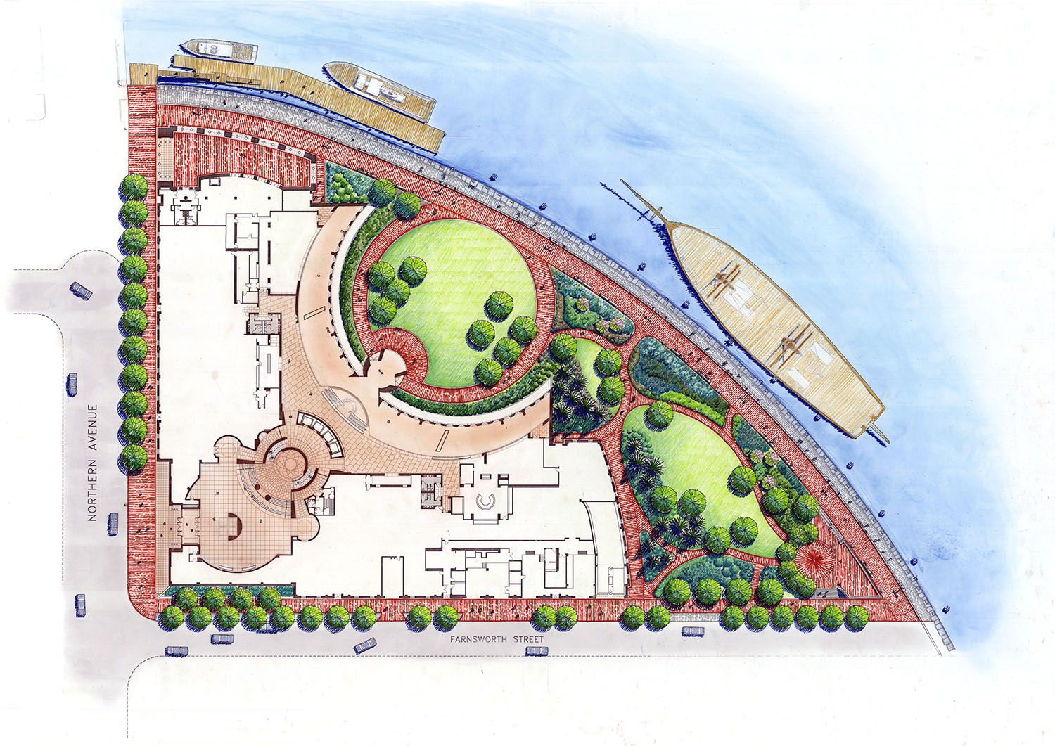 federal courthouse site plan
