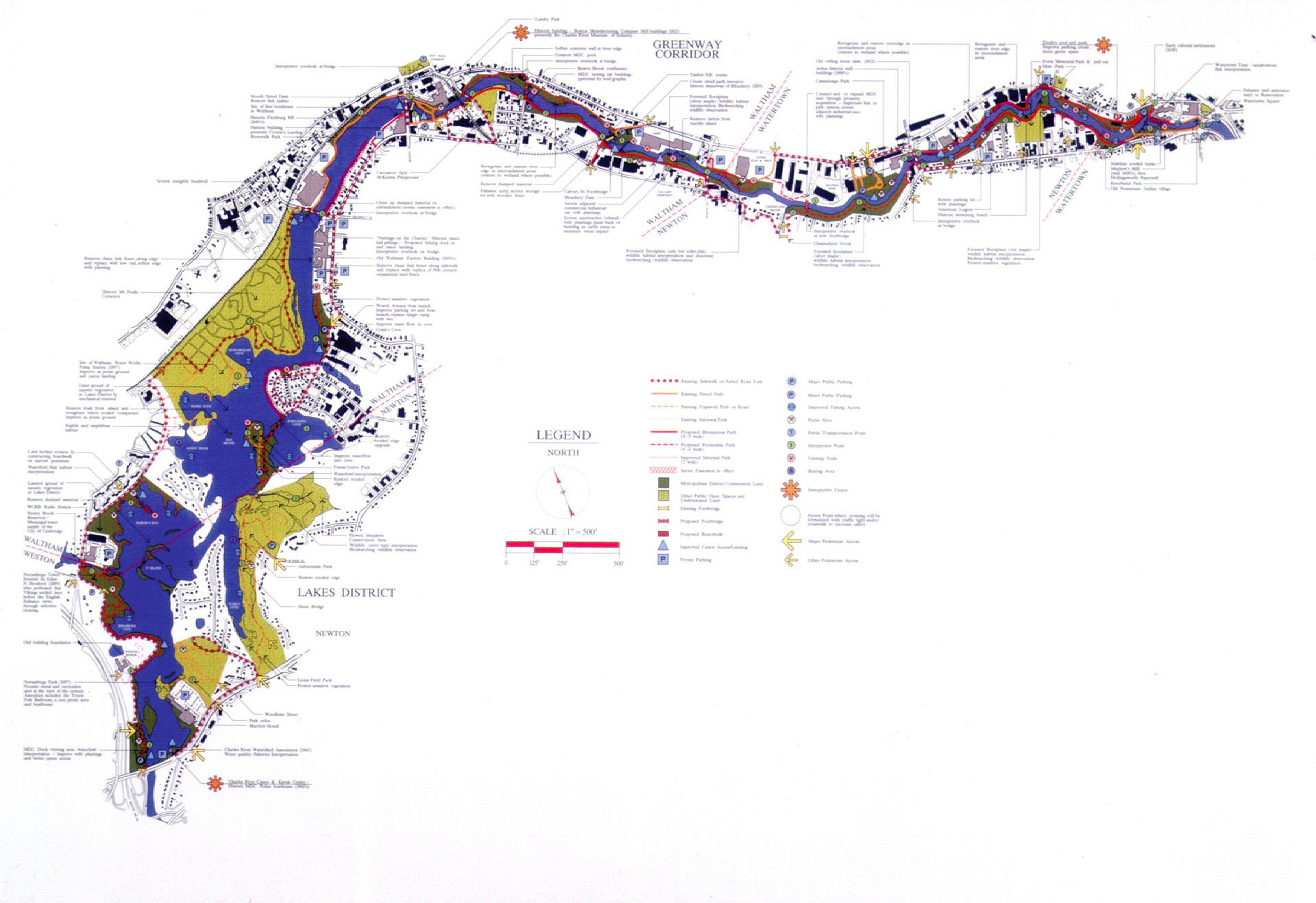 upper charles site plan