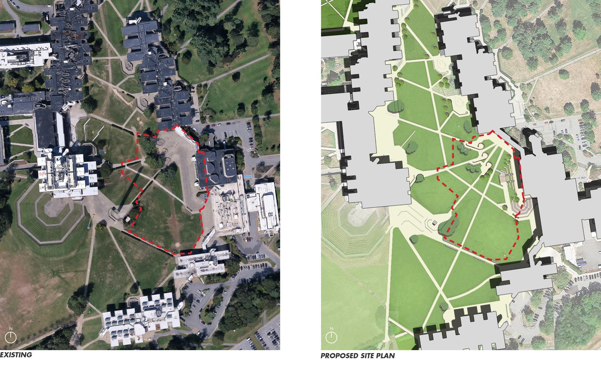 UMass Dartmouth Landscape Brutalism: Re-imagining the Plinth | CRJA